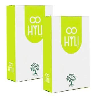 HYLI ไฮลี่ อาหารเสริม ปรับฮอร์โมน สำหรับผู้หญิง 30 แคปซูล x 2กล่อง