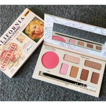 Harga Kiss Beauty California พาเลทแต่งหน้า Palette 3 in 1 NO.1