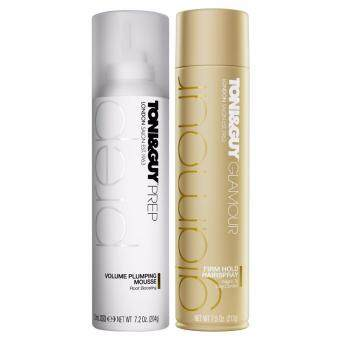 Harga Set Toni&Guy Volume Plumping Mousse + Firm Hold Hair Spray