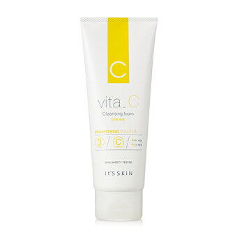 Harga It's Skin Vita C Brightening Solution Cleansing Foam