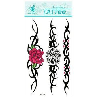 Harga Jetting Buy Temporary Tattoo Removable Waterproof Sexy Rose Flora