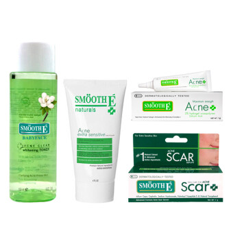 Harga Smooth-E Acne Set