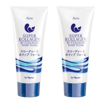 Harga Faris Super Kollagen 3D Collagen Whip Foam 80 g. (2 ชิ้น)