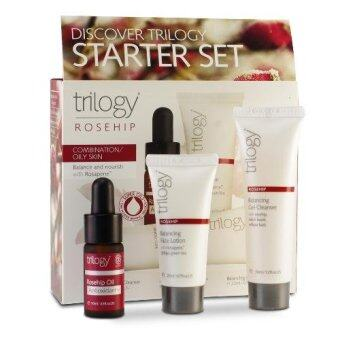 Harga Trilogy Discover Combination/Oily Skin Starter Set