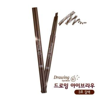 Harga Etude House Drawing Eye Brow Duo (เบอร์ 3 Brown)