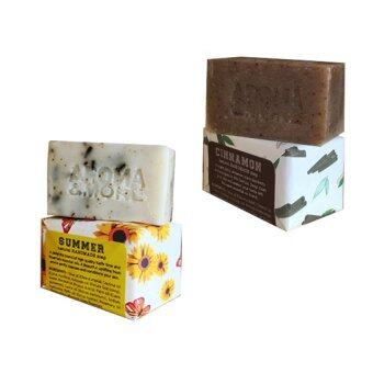 Harga Aroma & More Natural Handmade Soap Cinnamon+Summer
