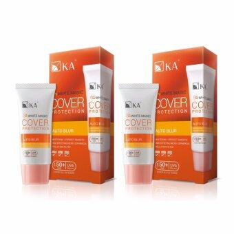 Harga KA UV White Magic Cover Protection SPF50+ PA++++ 30 g. (2 ชิ้น)