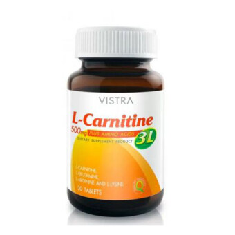 Harga Vistra L-carnitine 500 mg. Plus 3L 30 tablets