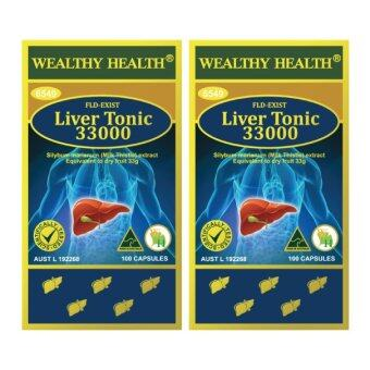 Harga Milk Thistle Wealthy Health Liver Tonic 33000 mg. (2 กระปุก)