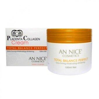 Harga AN NICE' Placenta Collagen Cream 100ml. (White)