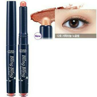 Harga Etude House bling bling eye stick No.12(สีน้ำตาลเข้ม)