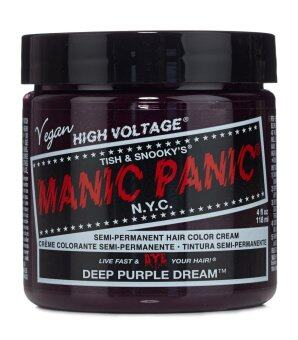 Harga MANIC PANIC - CLASSIC CREAM SEMI PERMANENT HAIR COLOR CREAM - DEEP PURPLE DREAM 118 ml (1 Jar)
