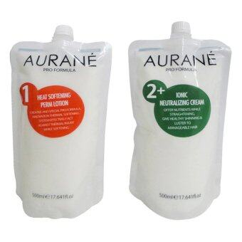 Harga ครีมยืดผม Aurane Ionic Staight Pream Set IonicNeutralizing Cream 500 ml.
