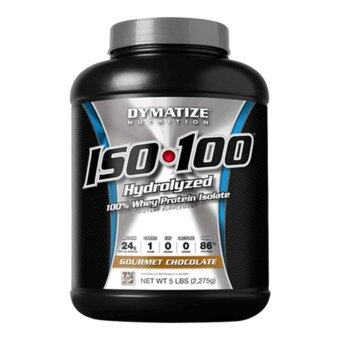 Harga DYMATIZE NUTRITION ISO 100 Fudge Brownie 5 LB