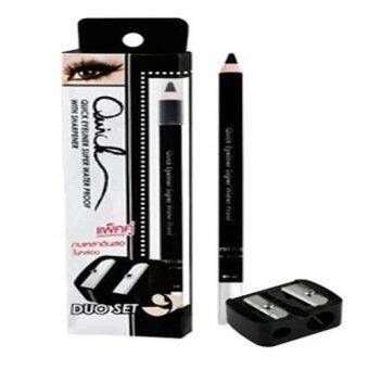 Harga Mei Linda Quick Eyeliner Super Water Proof Duo Set (Black)