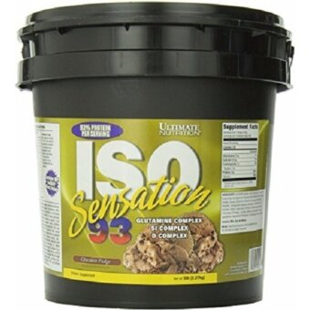 Harga Ultimate Nutrition ISO Sensation 93 5 lb -Chocolate