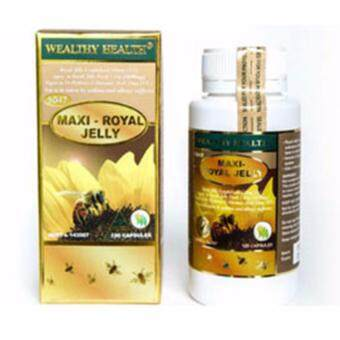 Harga Wealthy health Maxi-Royal jelly 10HDA33mg (6%) 1650 mg