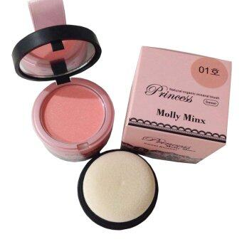 Harga Princess Molly Minx บลัชออน หน้าเด้ง Princess Molly Minx Sweet Blusher #01