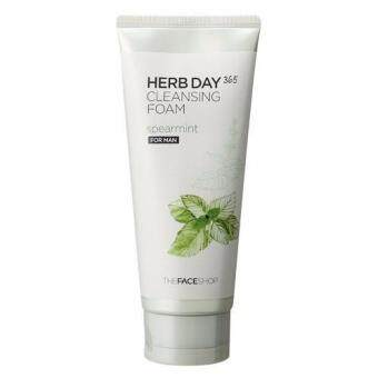 Harga THEFACESHOP HERB DAY 365 CLEANSING FOAM SPEARMINT