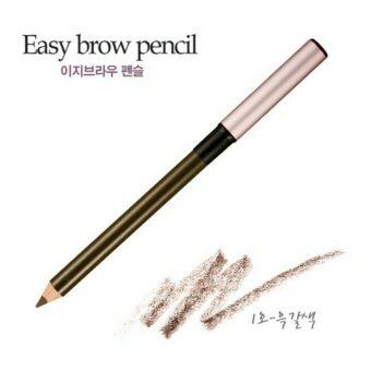 Harga Etude House Easy Brow Pencil (#1 Dark Brown น้ำตาลเข้ม)