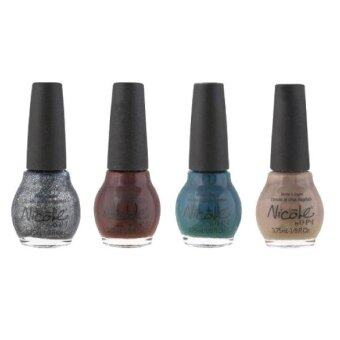 Harga NICOLE BY OPI เซตยาทาเล็บ KARDASHIANKOLOR SOPHISTI-CUTIES 4 Mini Nail Lacquers Pack