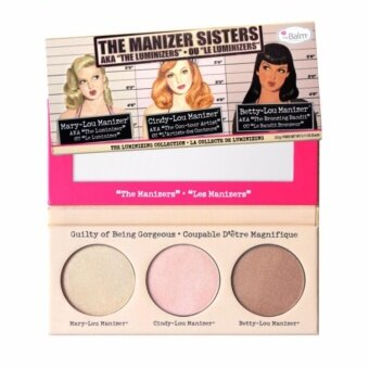 Harga The Balm The Manizer Sisters Palette 3g