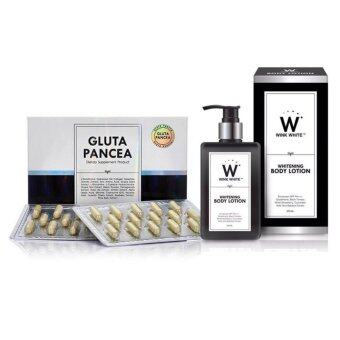 Harga Pancea Gluta (30 แคปซูล) + Wink White Whitening Body Lotion SPF PA+++ (200ml)