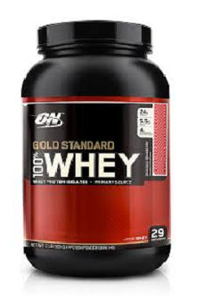 Harga OPTIMUM NUTRITION Gold standard 100% Whey-Delicious strawberry (29 Serving)