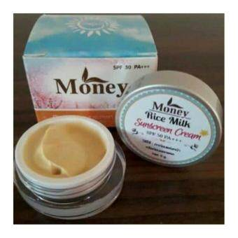 Harga Money Rice milk sunscreen cream กันแดดนมข้าว SPF50PA+++