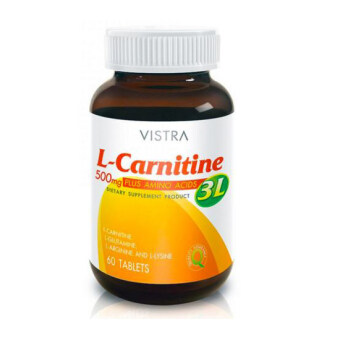 Harga Vistra L-carnitine 500 mg. Plus 3L 60 tablets