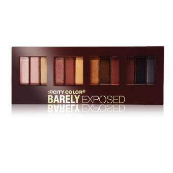 Harga City Color BarelyExposed EyePalette