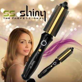 Harga SS Shiny Smart Hair Iron Gold SS-SHINY018G / Wireless type / Hair Comb Iron / Hair Styler - intl