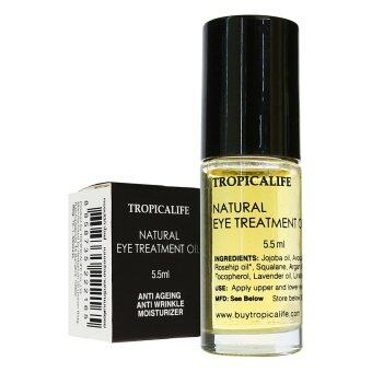 Harga TROPICALIFE Natural Eye Treatment Oil 5.5 ML (100% Natural)
