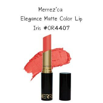 Harga Merrez'Ca Elegance Matte Color Lip #OR4407 Iris