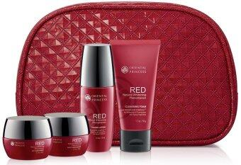Harga ORIENTAL PRINCESS เซตบำรุงผิวหน้า RED Natural Whitening Phenomenon Collection Set