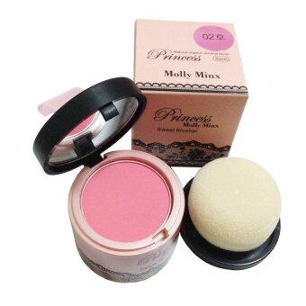 Harga Princess Molly Minx บลัชออน หน้าเด้ง Princess Molly Minx Sweet Blusher #02