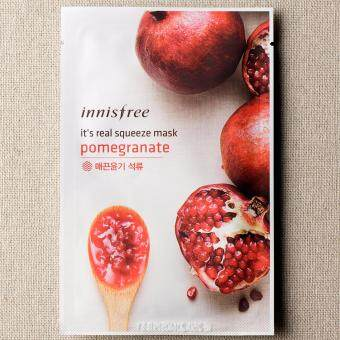 Harga Innisfree it's Real Squeeze Mask 20ml. #Pomegranate 5 แผ่น