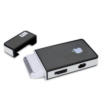 เครื่องโกนหนวดไฟฟ้าทรง iPhone 4s กันจอน ชาร์จไฟได้ รุ่นใหม่ขายดี