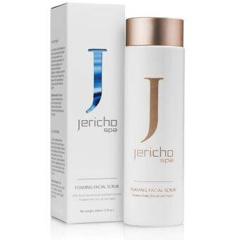 Jericho Foaming Facial Scrub by Jericho 200ml - With Dead Sea Minerals & Plant Extracts