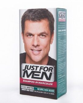 Just For Men Shampoo-in Haircolor Natural Dark Brown