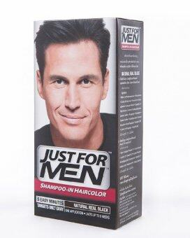 Just For Men Shampoo-in Haircolor Natural Real Black