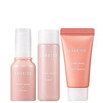 Harga Laneige Fresh Calming Trial Kit 3 items