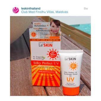 le'skin silky perfect uv sunscreen face ex spf 50+ PA+++