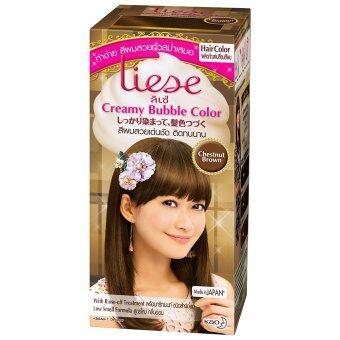Liese โฟมเปลี่ยนสีผม - Chestnut Brown