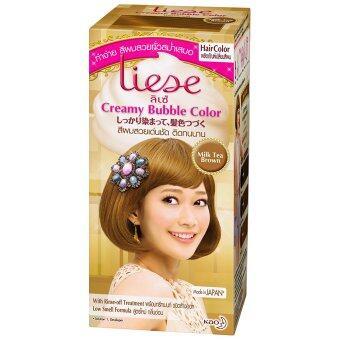 Liese โฟมเปลี่ยนสีผม - Milk Tea Brown
