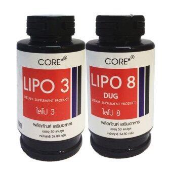 Lipo Core ไลโป เซ็ตลดน้ำหนักเร่งด่วน