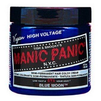 MANIC PANIC CLASSIC CREAM SEMI PERMANENT HAIR COLOR CREAM (BLUEMOON) 118 ml 1 Jar