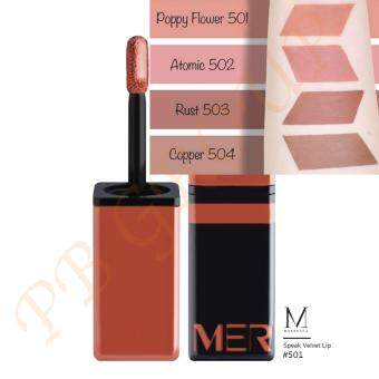 Merrezca Speak Velvet Lip 12ml. # 501 Poppy Flower