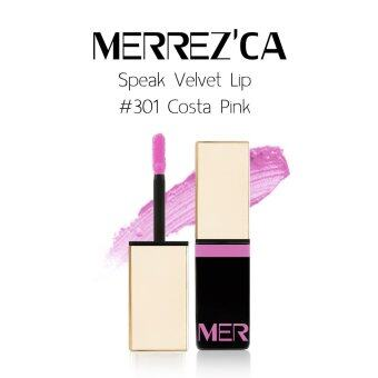 Merrez'Ca Speak Velvet Lip #301 Costa Pink