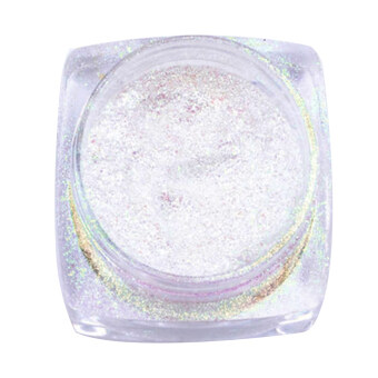 Mirror Chrome Effect Dust Magic Glitter Shimmer Nail Art Powder(Yellow)
